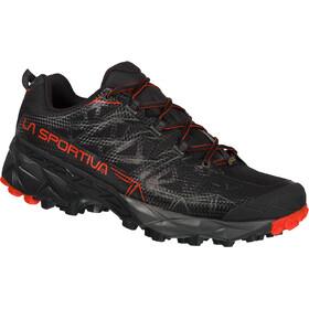 La Sportiva Akyra GTX Running Shoes Herr black/poppy